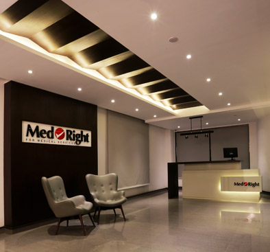 MedRight Office | Hazem Hassan Designs
